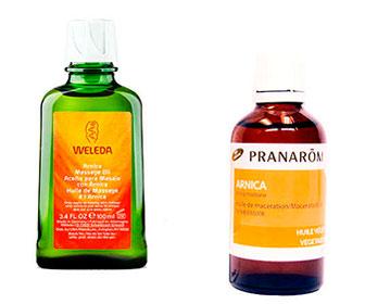 aceite de arnica natural para golpes y moretones