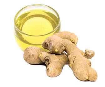 raíz de jengibre para hacer aceite natural casero