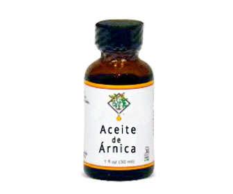 aceite de arnica para masajes