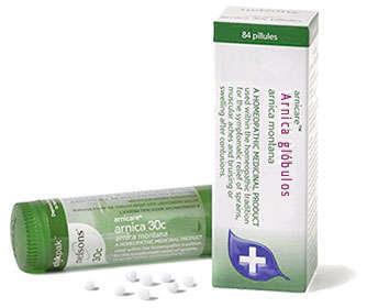 arnica homeopatia globulos y pastillas para debajo de la lengua