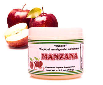 Pomada de manzana para desinflamar el vientre rápido